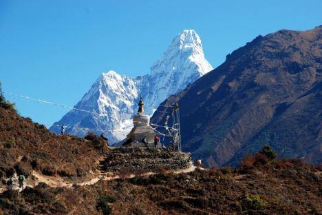 W drodze do Everest Base Camp. (Fot. Karolina Sypniewska)
