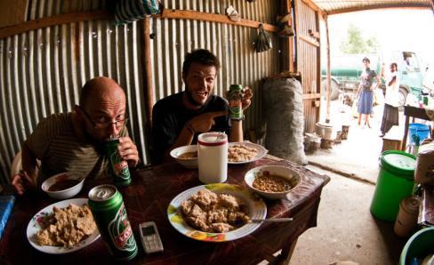 Piwo Łomża w Afryce