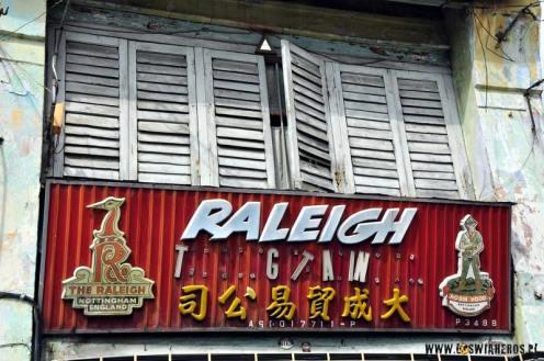 Malezja - ulice George Town. (Fot. Andrzej Budnik)