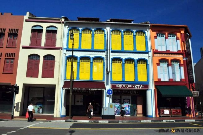 Sterylnie czysta singapurska China Town jest jednym z najnudniejszych miejsc w mieście. (loswiaheros.pl)