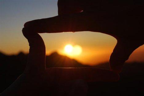 Zachód słońca na Wadi Rum