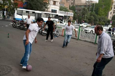 Mieszkańcy Teheranu