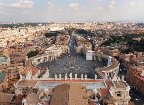 Panorama Rzymu i Watykanu to najpopularniejszy widok w przewodnikach po Rzymie.