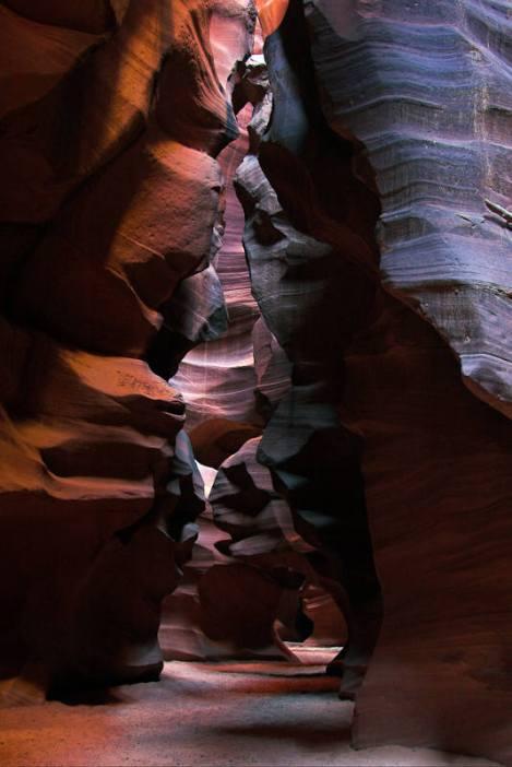 Magiczny Antelope Canyon. (Fot. Mariusz Jajesniak)
