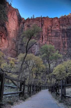 Park narodowy Zion będący mekką wspinaczy. (Fot. Mariusz jajesniak)