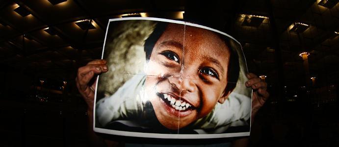 """Zdjęcie, od którego zaczęła się """"uśmiechnięta"""" akcja Bartka Koczenasza. (Fot. Bartek Koczenasz)"""