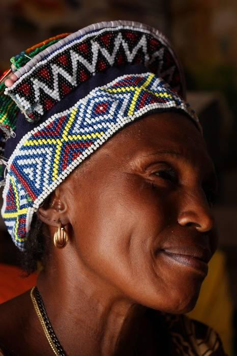 Królowa ludu Lunda zamieszkującego Kongo