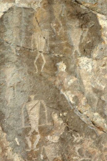 Petroglify Sagan Zaba. (Fot. Jakub Rybicki)