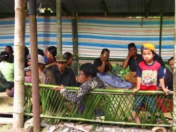 Ceremonia pogrzebowa w Indonezji