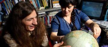Anna Galant z synem Przemkiem. (Fot. Archiwum)