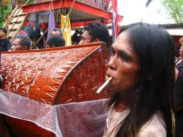 Pogrzeb w Indonezji - zdjęcia