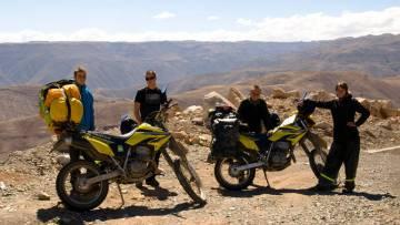Motocyklem przez Amerykę Południową - Magda i Tomek w podróży dookoła świata