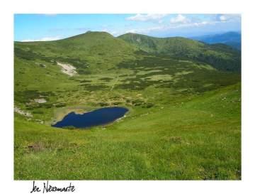 Jezioro Niesamowite na Huculszczyźnie