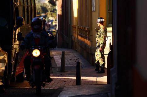 Wojsko w stolicy Kolumbii