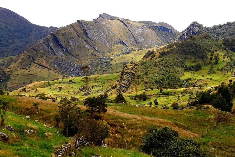 Park Narodowy El Cocuy w Kolumbii