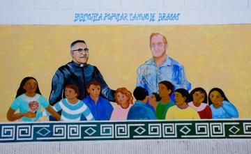 Oscar Romero - nieżyjący arcybiskup San Salwadoru.