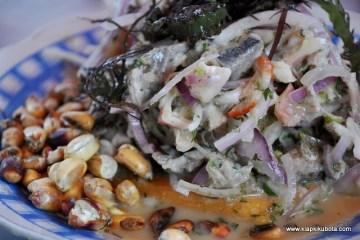 Peruwiański przysmak - caviche, czyli owoce morza