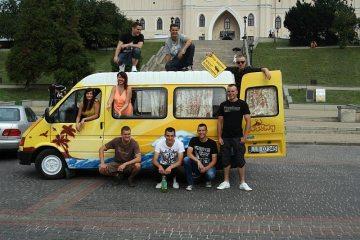 W podróż po Europie ford transit wyjechał z Lublina
