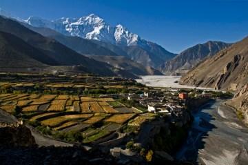Wioska Kagbeni. Zdjęcia z Nepalu