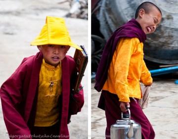 O tym kto zostanie mnichem buddyjskim często decydują rodzice