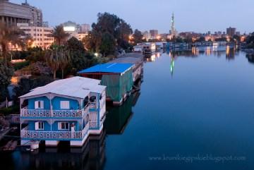 Spokojny poranek w Kairze