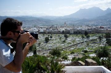Zdjęcie panoramy Tetouanu w Maroko