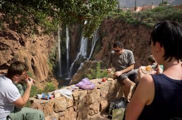Wodospad Ouzoud w Maroku
