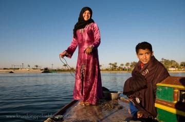 Egipskie dzieci nad Nilem