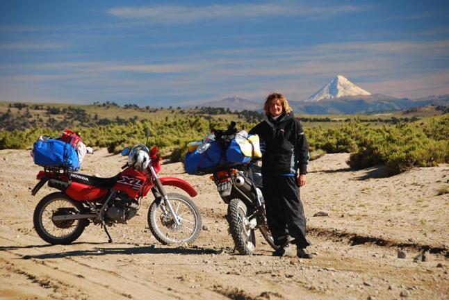 Motocykl okazał się najlepszy do podróżowania