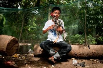 Dziecko z Filipin