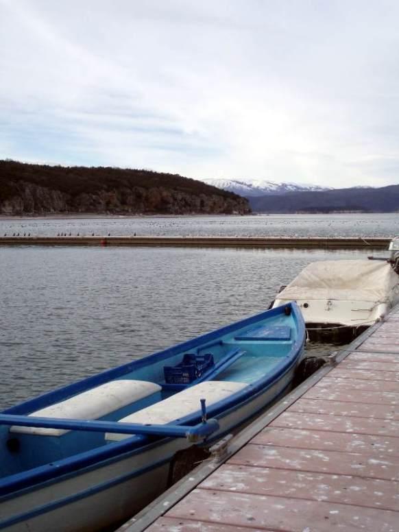 Greckie jezioro Wielka Prespa