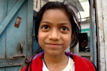 Zdjęcie hinduskiej dziewczynki