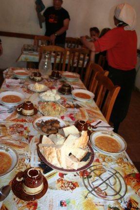 jedzenie w albanii