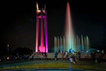 Fontanna w Manilii. Zdjęcie z podróży