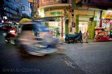 Zakorkowane azjatyckie miasto