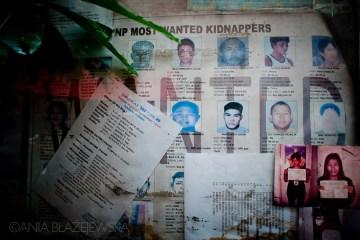 Ostrzeżenie przed porwaniem w Azji
