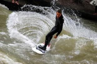 surfing w Monachium