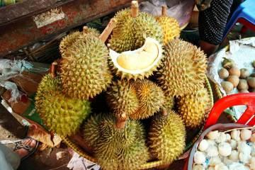 Durian to popularny w Azji owoc