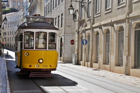 Symbol Lizbony, czyli tramwaj