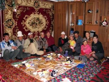Kirgiskie przyjęcie