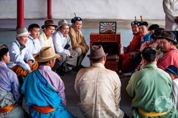 Popularną gra towarzysząca Naadamowi - shagai