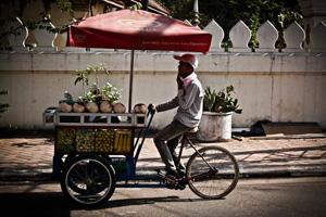 Podróż po Laosie. Wzdłuż Mekongu.