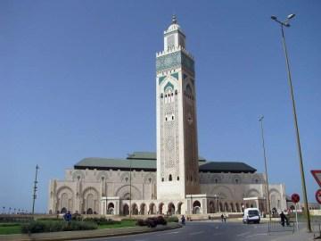 Casablanca, Maroko. meczet Hassana II
