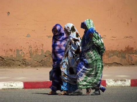 Muzułmanki mieszkające w Makoku