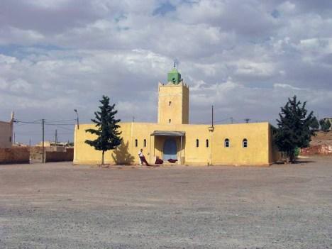Mały marokański meczet. (Fot. Zuzanna Gmitrzuk)