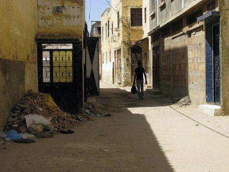 Uliczka w Maroku