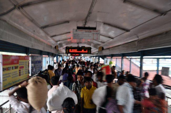 Na dworcu w New Delhi