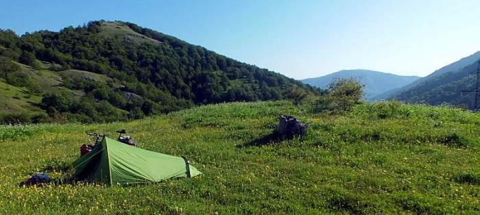 Podróż przez Górski Karabach. Nocleg w namiocie