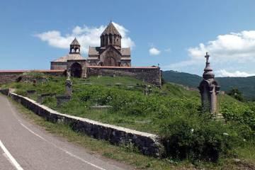 Podróż przez Górski Karabach. Monastyr Gandzasar