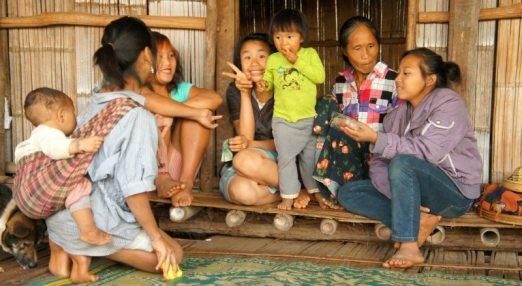 Kobiety z plemienia Lahu